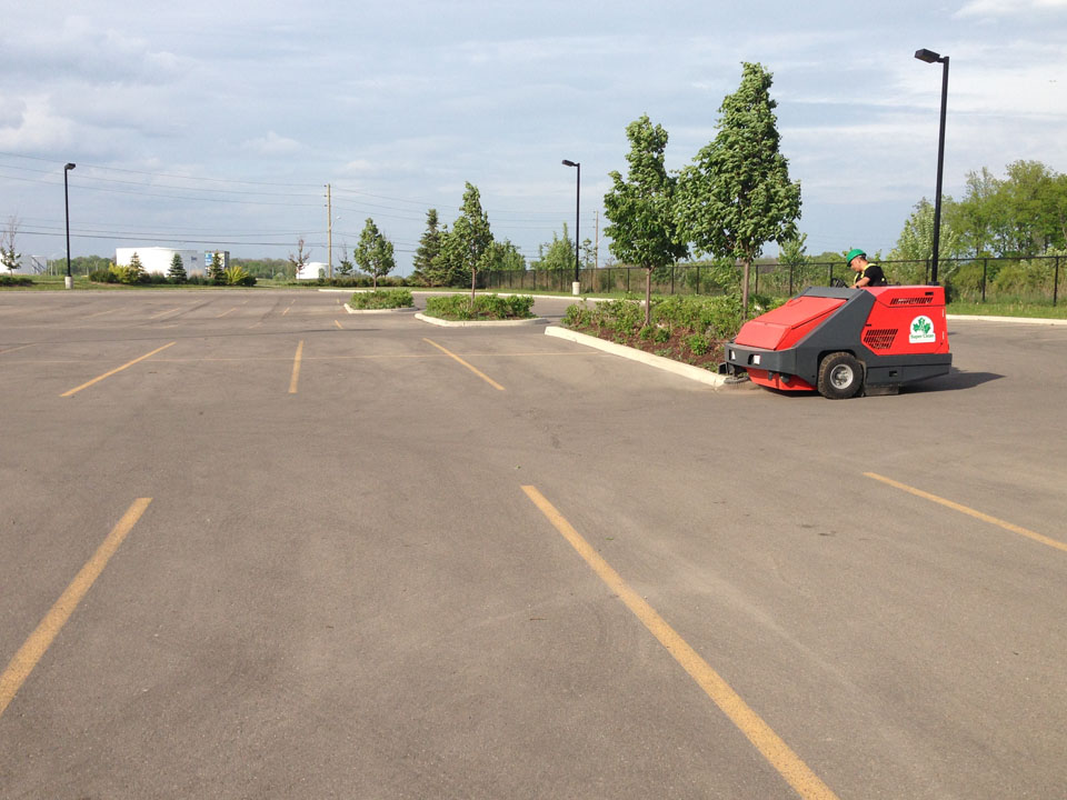 Parking Lot Sweeping