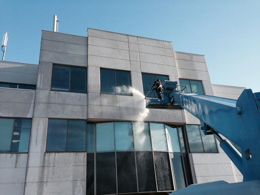 Building Exterior Cleaning